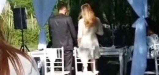 una boda fue interrumpida por los gritos de un vendedor ambulante