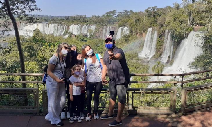 Turismo en Semana Santa: las Cataratas del Iguazú volvieron a ser el lugar preferidos con 5 mil visitas por día