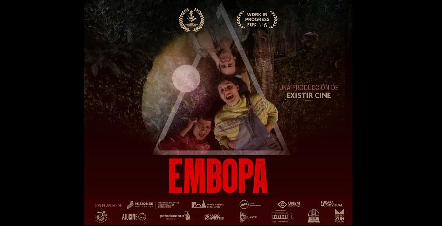 """Embopa: la película proyectada en el evento de """"Cine y Música"""" en el camping Yasy"""