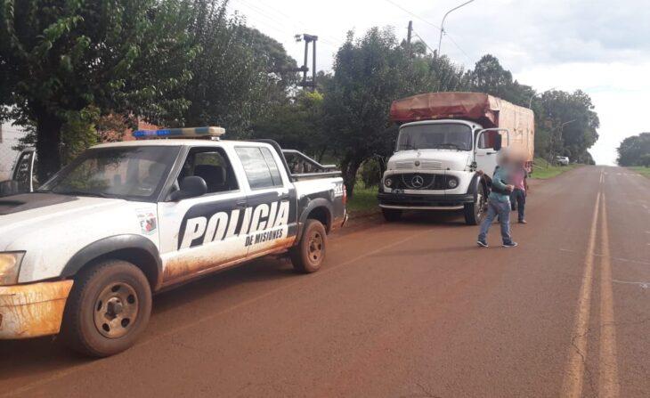 Otro golpe al contrabando de soja en Misiones: retuvieron un camión que ingresó por un paso clandestino