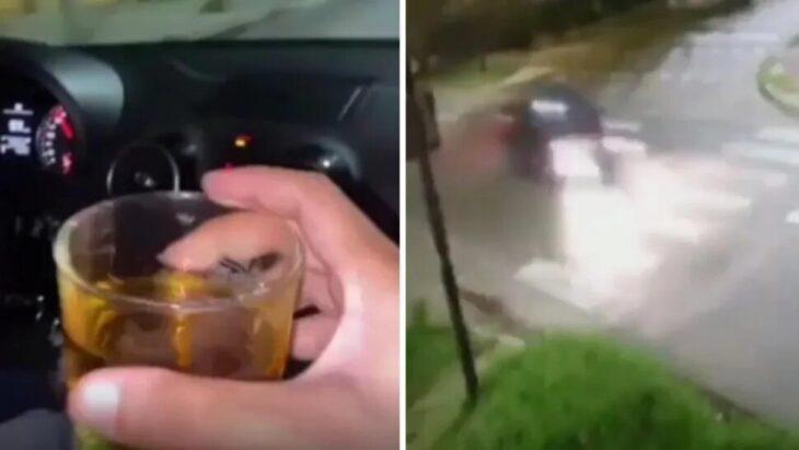 Imprudencia y alcohol, la previa del trágico accidente de Lanús