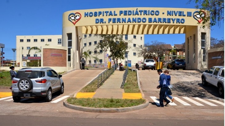diálisis en el Hospital de Pediatría de Posadas