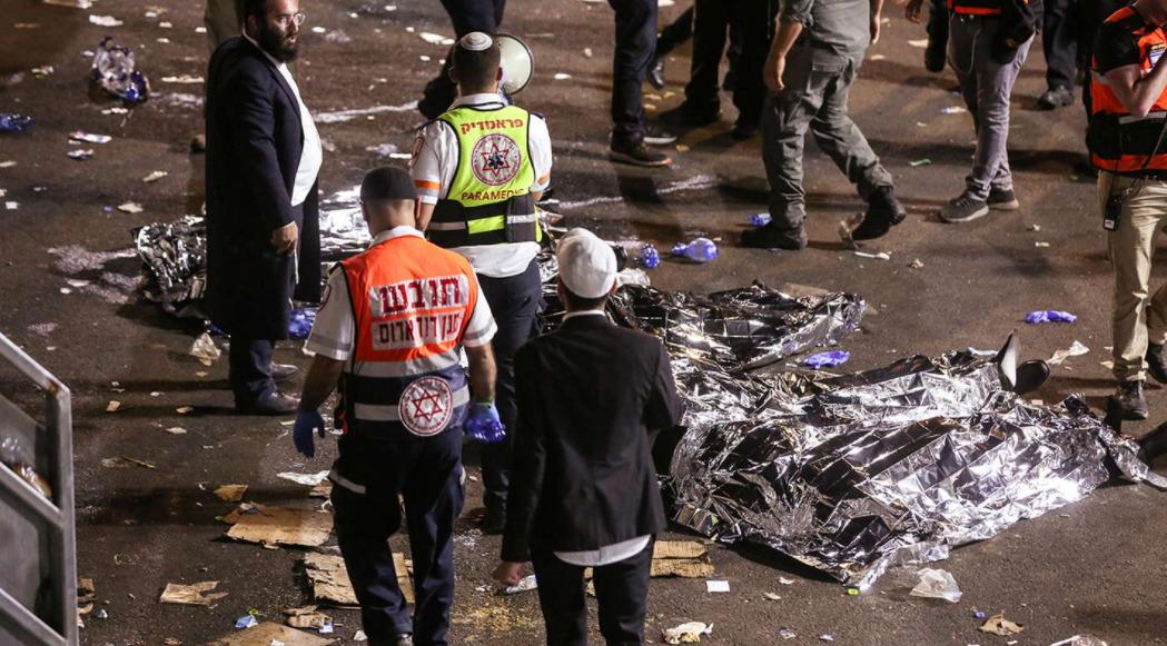 Tragedia en Israel: hay al menos 44 muertos por una estampida durante una peregrinación judía
