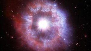 Impresionante foto de una estrella gigante al borde de la destrucción