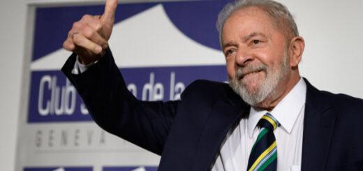 Lula da Silva anunció la posibilidad de ser candidato en las elecciones de 2022