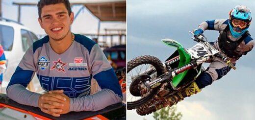 """Conmoción en el mundo del deporte: murió """"Wey"""" Zapata, el corredor de motocross que competía sin un brazo"""