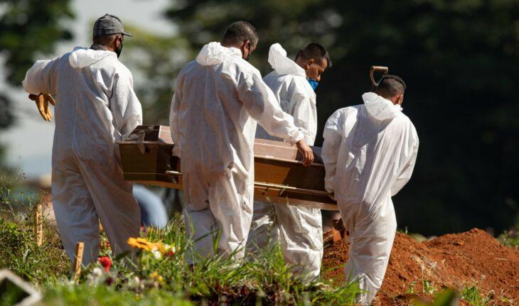 A 4 meses del inicio del año, Brasil registra más muertos por Covid-19 que en todo 2020