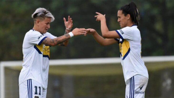 La posadeña Yamila Rodríguez anotó un gol en la goleada de Boca Juniors