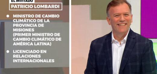 """Patricio Lombardi: """"Misiones es muy respetada a nivel internacional en materia ambiental"""""""