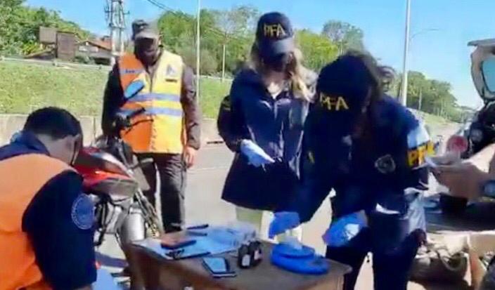 detenidas en Garupá por transportar marihuana y cocaína