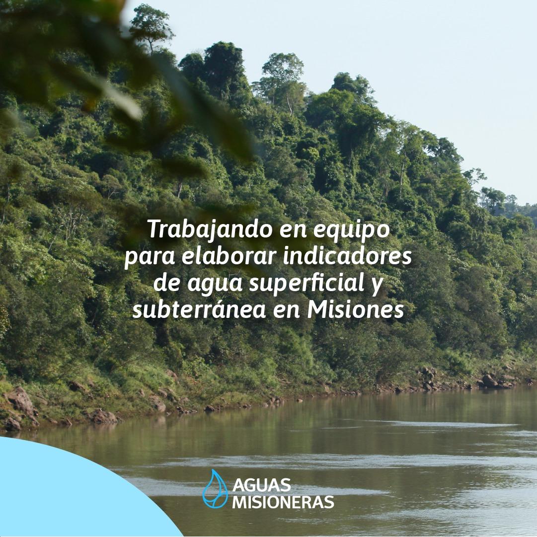 Contribuyendo con los ODS 2030: Aguas Misioneras y el IPEC trabajan juntos para desarrollar indicadores de agua en Misiones