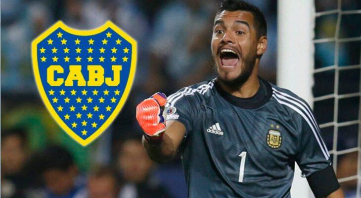 Sergio «Chiquito» Romero podría estar cerca de Boca