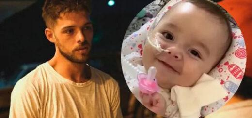 Santiago Maratea quiere reunir 2 millones de dólares para ayudar a una bebé de Chaco