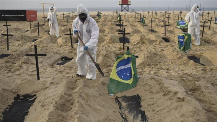 Coronavirus en Brasil: el país registra por primera vez más de 4.000 muertes en 24 horas