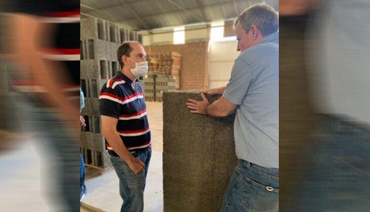 El Parque Industrial y de la Innovación visitó la planta de Simacon en El Alcázar