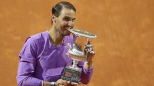 Rafael Nadal venció a Djokovic y se quedó con el Masters 1000 de Roma