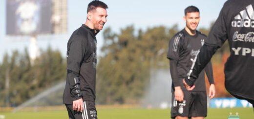 Con Messi a la cabeza, la Selección arrancó con los entrenamientos para las Eliminatorias y la Copa América