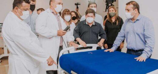 Herrera Ahuad recorrió el Hospital Samic de Eldorado donde se sumaron 10 camas UTI