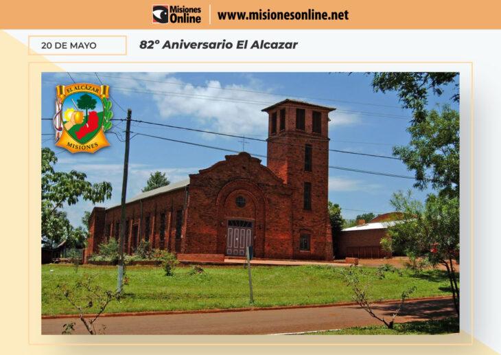 Hoy el municipio de El Alcázar celebra el Aniversario Nº 82 de su fundación