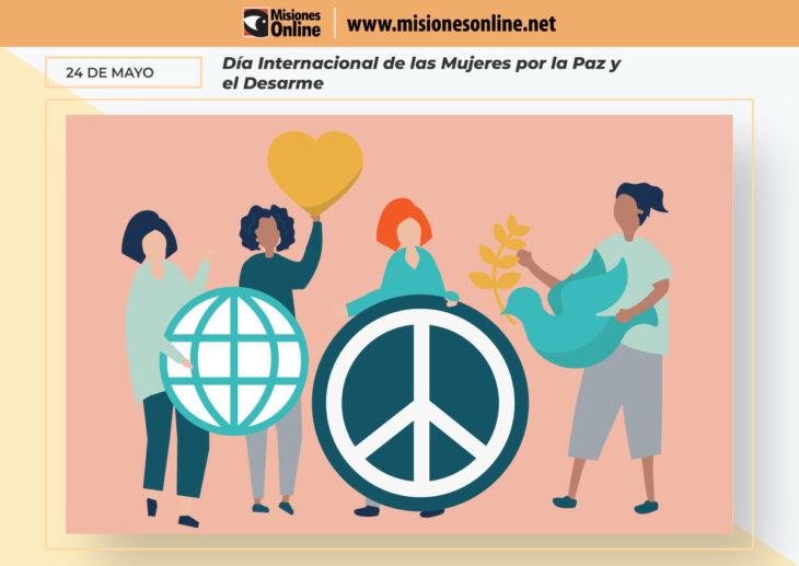 Hoy se conmemora el Día Internacional de las Mujeres por la Paz y el Desarme en homenaje a las mujeres que dedicaron su vida al activismo pacifista