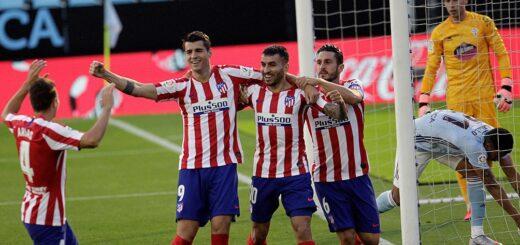 """El Atlético Madrid del """"Cholo"""" lo dio vuelta en el final y quedó a un paso del título"""