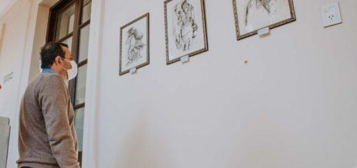 Herrera Ahuad participó en la muestra conmemorativa de Mandové Pedrozo