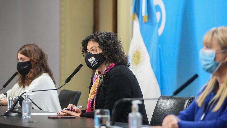 Vizzotti anunció que el 21 de mayo llegarán al país 861.000 vacunas AstraZeneca