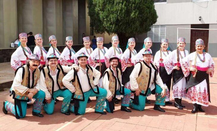 El ballet Kolomeia de la Asociación Cultural Ucraniana de Posadas reanuda sus actividades