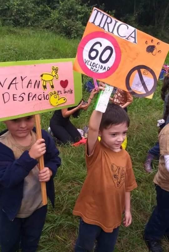 """Educación ambiental: niños y niñas de la zona Norte se apropiaron de la campaña """"Queremos fauna para nuestro futuro"""""""