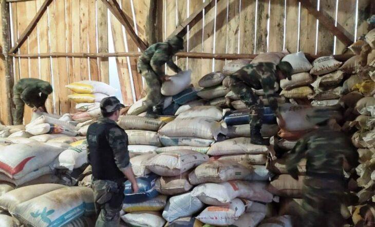 Contrabando de soja: tras un impresionante operativo, Prefectura decomisó casi 126 toneladas en El Soberbio