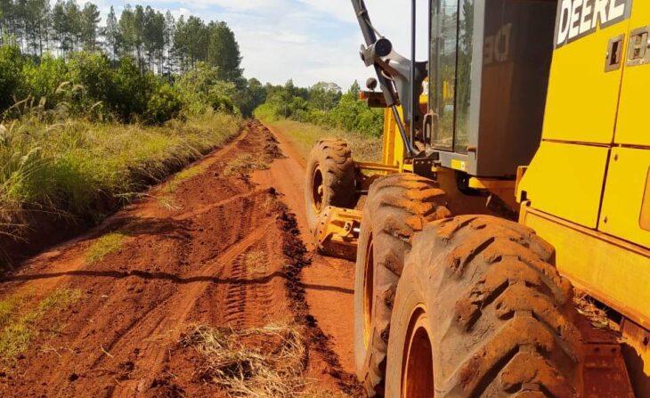 Vialidad concretó mantenimiento de más 170 kilómetros de caminos terrados