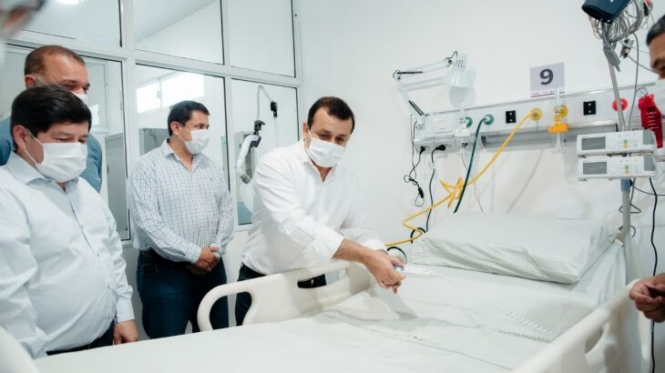 Misiones aumentó más de un 70% las camas de terapia intensiva y continúa fortaleciendo el sistema sanitario ante la posible segunda ola