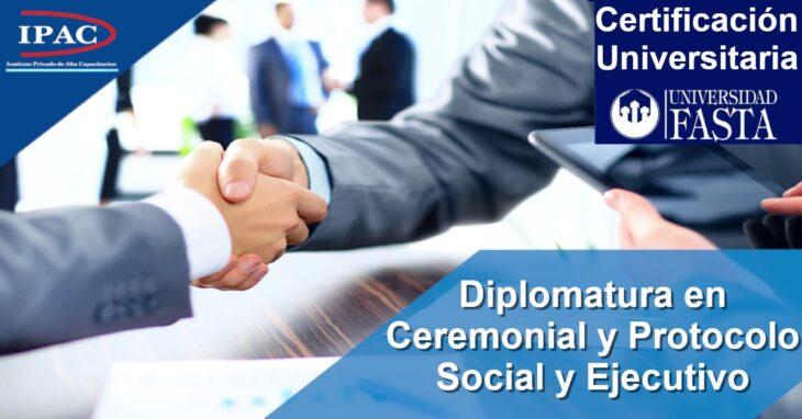 El IPAC presenta la Diplomatura en Ceremonial y Protocolo – Social y Ejecutivo