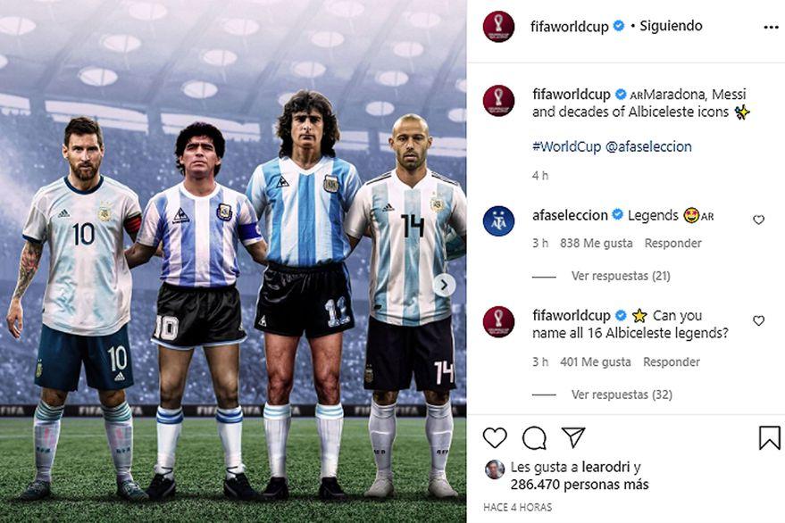 """Polémica por la elección de Ángel Di María como """"ícono"""" de la Selección"""
