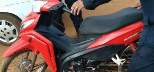 Virasoro robó una moto