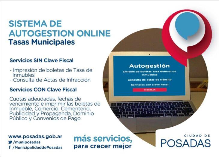 El pago de impuestos municipales de forma online tuvo un balance positivo en Posadas, a más de un año de su implantación