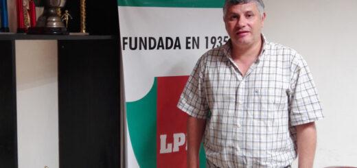 Nelson Castelli fue reelecto como presidente de la Liga Posadeña de Fútbol