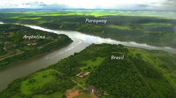 Daniel Scioli llevará a Brasil la preocupación de Misiones sobre la bajante del caudal de los ríos Paraná e Iguazú
