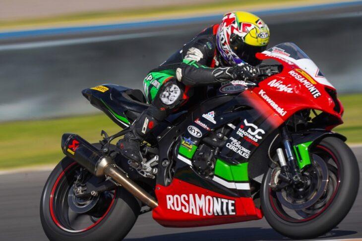 Motociclismo: contundente victoria de Ribodino en San Juan con el Rosamonte Racing Team