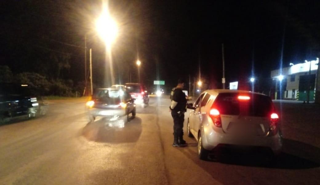 Seguridad vial: durante el fin de semana labraron 45 actas de infracción en Oberá