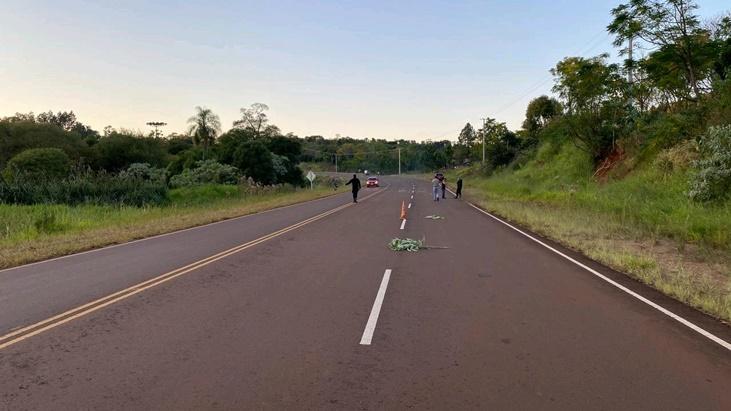 Siniestro vial en San Pedro: una mujer murió atropellada por una moto cuyo conductor se dio a la fuga
