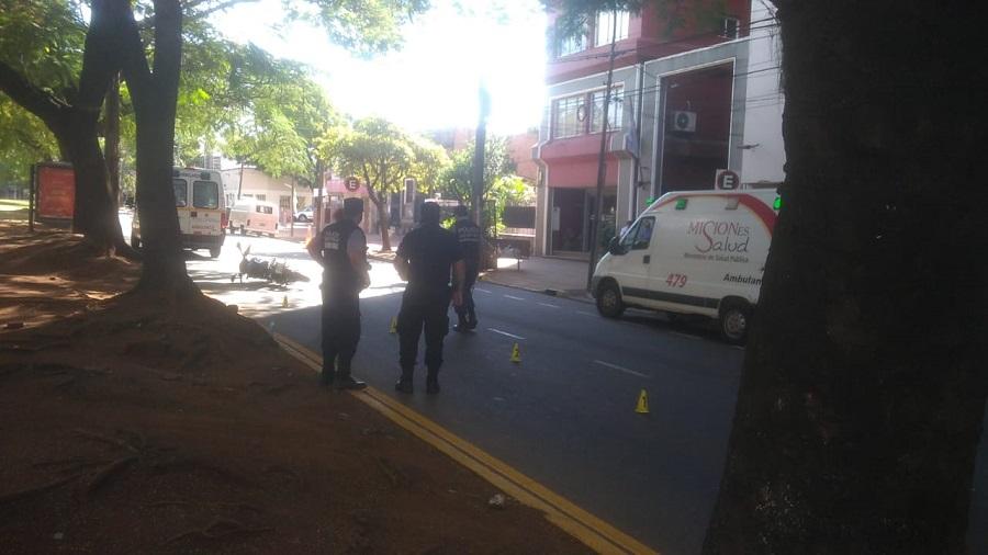 Atropellaron y mataron a un empresario posadeño sobre la avenida Mitre