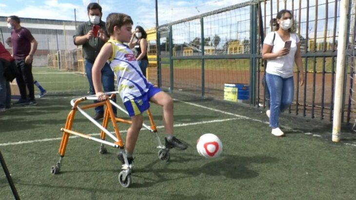 El Fútbol adaptado avanza en el Club Mitre de Posadas