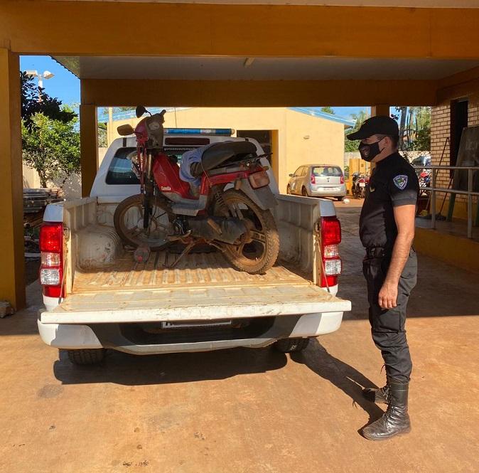 Detuvieron al motociclista acusado de atropellar