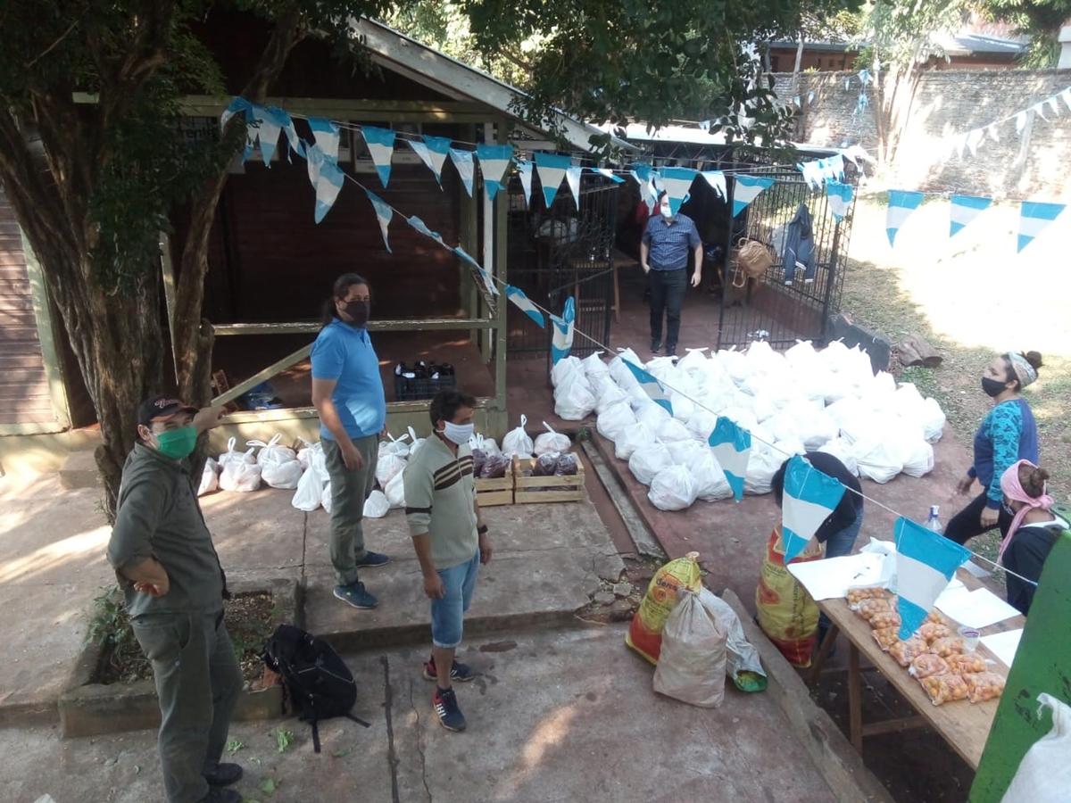 La red YVÁ cumple un año de la emergencia alimentaria a la soberanía.