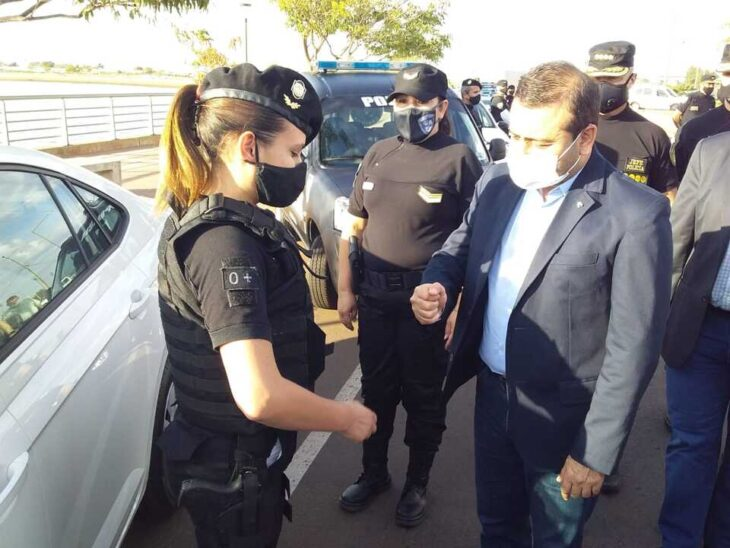 Oscar Herrera Ahuad entregó más de 100 móviles a la Policía de Misiones para fortalecer la seguridad en la provincia