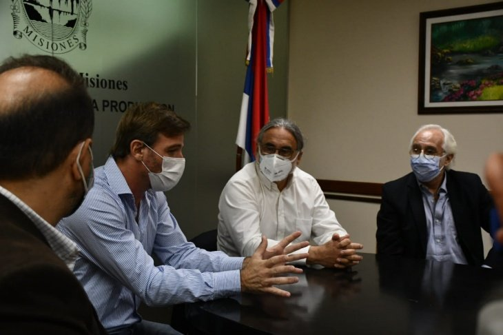 Luis Basterra, ministro de Agricultura de Argentina se reunió con el Gobernador de Misiones