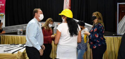 """""""Programa Potenciar trabajo"""": Montecarlo recibió herramientas y equipos de trabajo"""