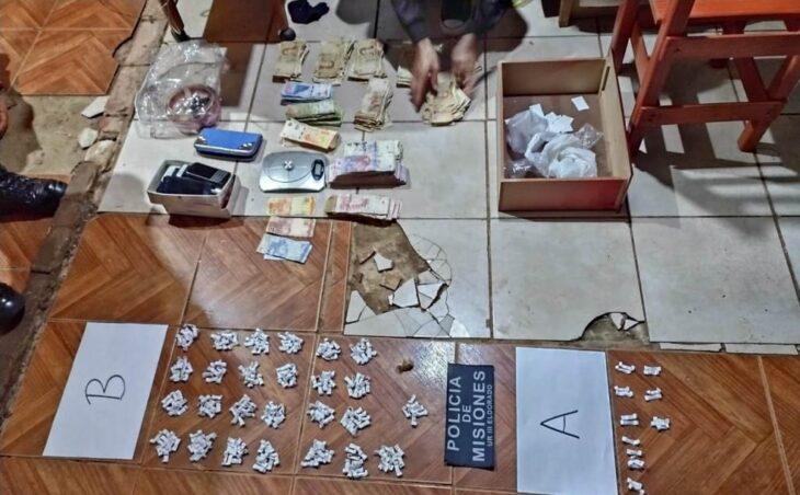 Desbarataron un kiosco de cocaína en Montecarlo