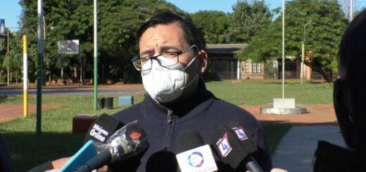 Pablo Velázquez llevó sus propuestas para combatir la inseguridad en Posadas al barrio 20 de Junio